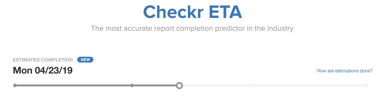 Checkr ETA