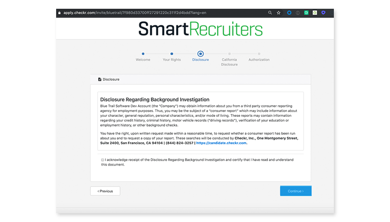 smartrecruiters ui screenshot 1