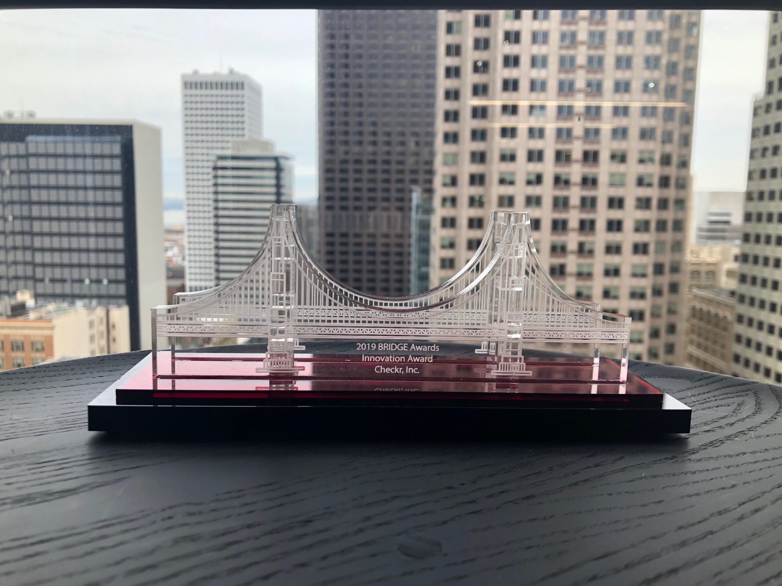 Checkr Named 2019 Bridge Award Winner