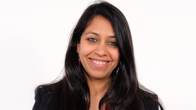 Prachi Gore as VP of Marketing
