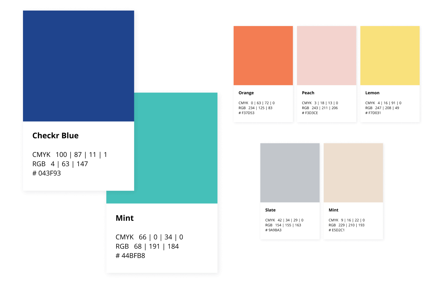 Checkr Brand Colors