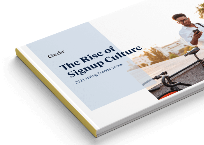 rise of signup culture book mockup